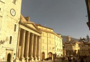 Náhledový obrázek webkamery Assisi - Náměstí del Comune