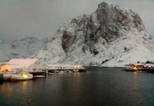 Náhledový obrázek webkamery Hamnøy - Eliassen Rorbuer