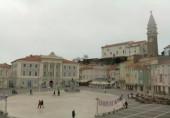 Náhledový obrázek webkamery Tartini náměstí - Pirano