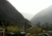 Náhledový obrázek webkamery Trenino Rosso, Bernina Express