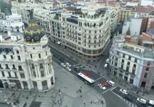 Náhledový obrázek webkamery Madrid - budova Metropolis