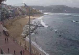Náhledový obrázek webkamery Pláž di Las Canteras - Las Palmas