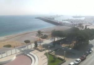 Náhledový obrázek webkamery Altea - Spiaggia La Roda