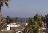 Náhledový obrázek webkamery Lanzarote - Pláž Cucharas