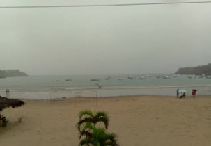 Náhledový obrázek webkamery Ecuador - Pláž Ayangue