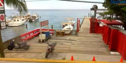 Náhledový obrázek webkamery Pláž di West End - Roatán