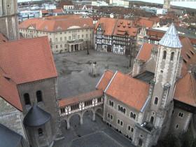 Náhledový obrázek webkamery Braunschweig, Burgplatz
