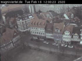 Náhledový obrázek webkamery Braunschweig, Magniviertel