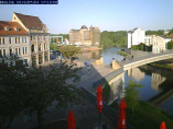 Náhledový obrázek webkamery Bernburg, Lávka