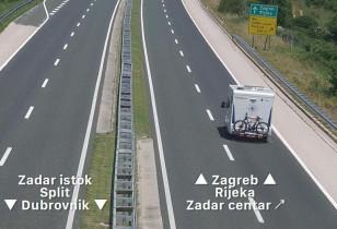 Náhledový obrázek webkamery Zadar - dopravní situace