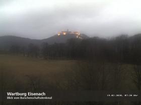 Náhledový obrázek webkamery Eisenach, Wartburg