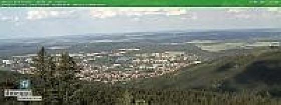 Náhledový obrázek webkamery Ilmenau Pohled z Kickelhahnturm (severovýchod)