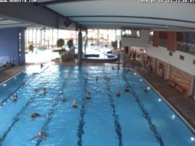 Náhledový obrázek webkamery Bensheim, bazén Innenansicht
