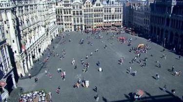 Náhledový obrázek webkamery Brusel -  Grand-Place