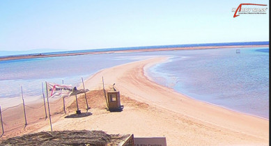 Náhledový obrázek webkamery Dahab - pláž