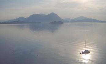 Náhledový obrázek webkamery Baveno - Jezero Maggiore