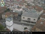 Náhledový obrázek webkamery Udine -náměstí Liberta