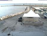 Náhledový obrázek webkamery Ancona - přístav Dorica