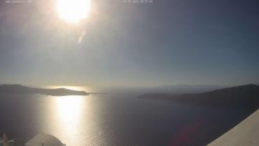 Náhledový obrázek webkamery Santorini - Caldera