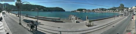 Náhledový obrázek webkamery Mallorca - Puerto de Soller - Bay and Marina