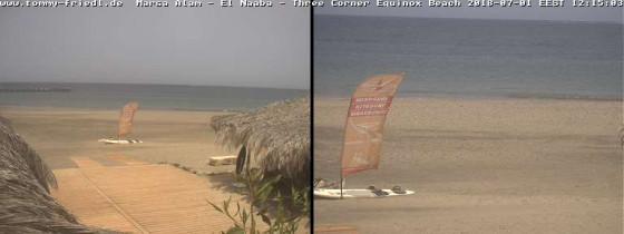 Náhledový obrázek webkamery Hurghada - surfová pláž