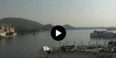 Náhledový obrázek webkamery Udaipur - jezero Pichola