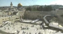 Náhledový obrázek webkamery Jerusalem - západní zeď 2