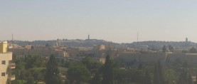 Náhledový obrázek webkamery Jerusalem  - hotel Inbal