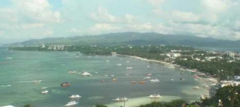 Náhledový obrázek webkamery Boracay - Panorama Bulabog Bay