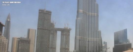 Náhledový obrázek webkamery The Palace Downtown Dubai