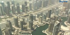 Náhledový obrázek webkamery Dubai - Princess Tower