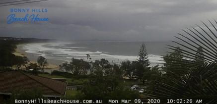 Náhledový obrázek webkamery Bonny Hills - Rainbow Beach