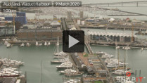 Náhledový obrázek webkamery Auckland - Viaduct Harbour