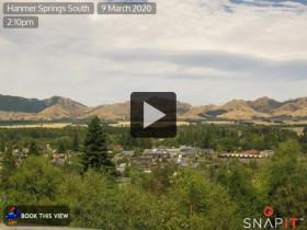 Náhledový obrázek webkamery Hanmer Springs 2