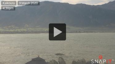 Náhledový obrázek webkamery Kaikoura Ranges