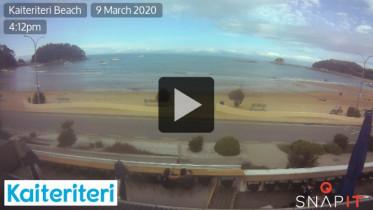 Náhledový obrázek webkamery Kaiteriteri Beach