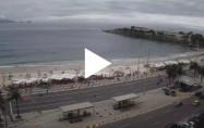 Náhledový obrázek webkamery Rio de Janeiro - Copacabana