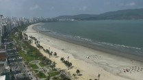 Náhledový obrázek webkamery Pláž Praia de Santos