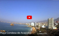 Náhledový obrázek webkamery Pláž Condesa - Acapulco