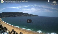 Náhledový obrázek webkamery pláž Acapulco