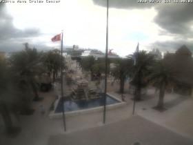 Náhledový obrázek webkamery Cozumel - Puerta Maya Cruise Center