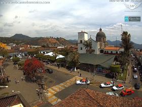 Náhledový obrázek webkamery Tacámbaro - Plaza del Pueblo