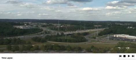 Náhledový obrázek webkamery Birmingham - Galleria Towers