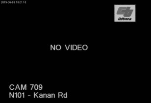 Náhledový obrázek webkamery Agoura Hills - US-101 North At Kanan Rd