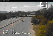Náhledový obrázek webkamery  Westlake Village - US-101 North At Lindero Canyon Rd