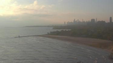 Náhledový obrázek webkamery Chicago - Edgewater Beach