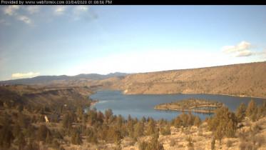 Náhledový obrázek webkamery Culver - jezero Billy Chinook