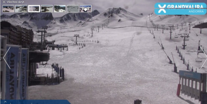 Náhledový obrázek webkamery Pas de la Casa