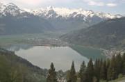 Náhledový obrázek webkamery Zell am See / jezero Zell