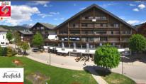 Náhledový obrázek webkamery Seefeld in Tirol - Kirche Seefeld Ort